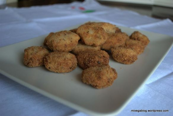 nuggets veganos